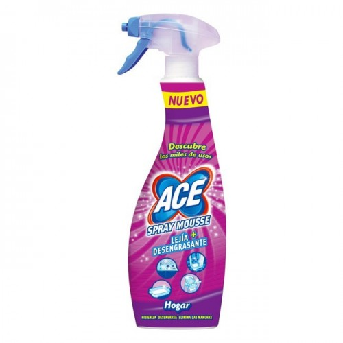ACE LIMPIADOR SPRAY MOUSSE 700ML