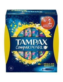 TAMPAX COMPAK PEARL 18 UDS REGULAR