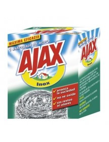 AJAX ESTROPAJO ACERO INOXIDABLE