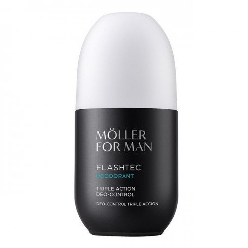 MOLLER FOR MAN DESODORANTE TRIPLE ACTION ROLL-ON 75ML