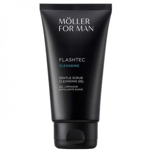 MOLLER FOR MAN GEL LIMPIADOR EXFOLIANTE SUAVE 125ML