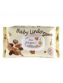 BABY LINDO TOALLITAS BEBE 72U ACEITE DE ARGAN C/TAPA