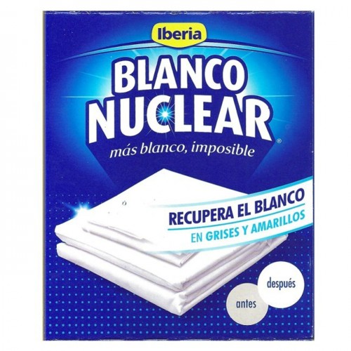 BLANCO NUCLEAR ROPA 6 SOBRES 120 GRS.