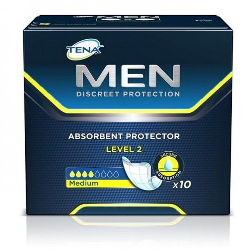 TENA MEN NIVEL-2 10 UDS PROTECTOR DE INCONTINENCIA