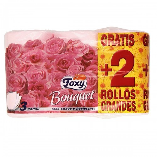 FOXY PAPEL HIGIENICO COLOR 4+2 ROLLOS