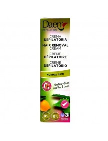 DAEN CREMA DEPILATORIA CORPORAL P/NORMAL ALOE VERA 125ML