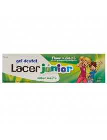 LACER PASTA DENTIFRICA JUNIOR GEL MENTA 75ML