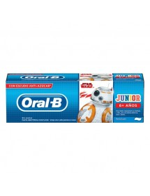 ORAL B PASTA JUNIOR 6+ AÑOS (STAR WARS) 75ML