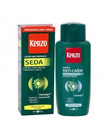 KERZO SEDA LOCION 150 ML.+CHAMPU ANTICAIDA 250ML