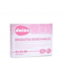 DNINS BRAGUITAS DESECHABLES 4 UDS. M/L