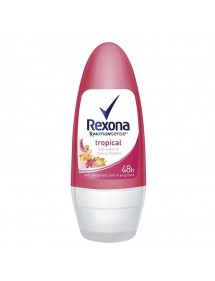 REXONA DESODORANTE ROLLON WOMAN TROPICAL 50ML