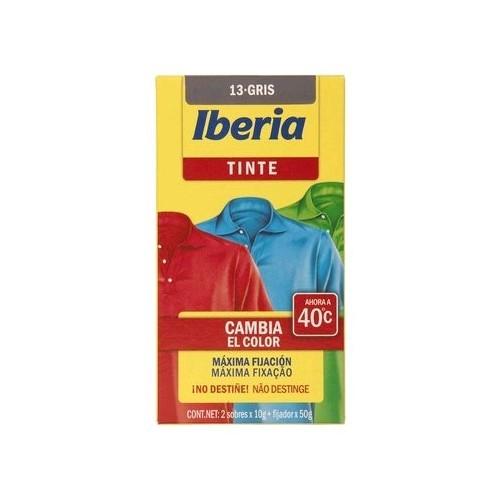 IBERIA TINTE DE ROPA 40º GRIS