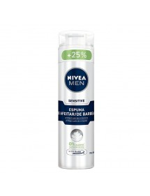 NIVEA ESPUMA DE AFEITAR SENSITIVE 200+50ML GRATIS