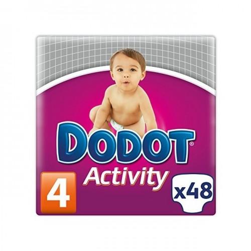 DODOT PAÑAL ACTIVITY TALLA 4 48 UD 8 A 14KG