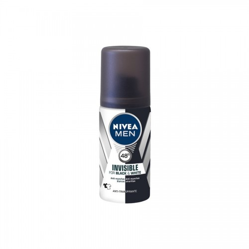 NIVEA DESODORANTE VIAJE INVISIBLE B&W MEN SPRAY 35ML