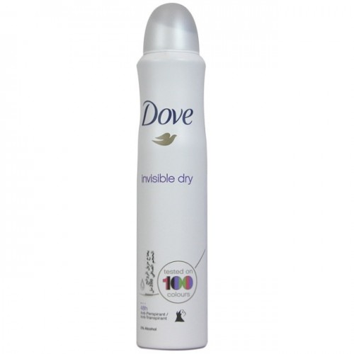 DOVE DESODORANTE SPRAY 200ML INVISIBLE DRY