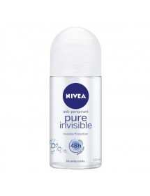 NIVEA DESODORANTE ROLL-ON WOMEN PURE INVISIBLE 50ML
