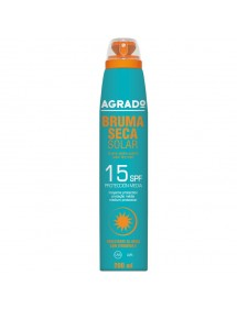 AGRADO SOLAR BRUMA SECA FP15 SPRAY 200ML