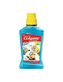 COLGATE ENJUAGUE INFANTIL MINIONS S/ALCOHOL 6-12 AÑOS 250ML