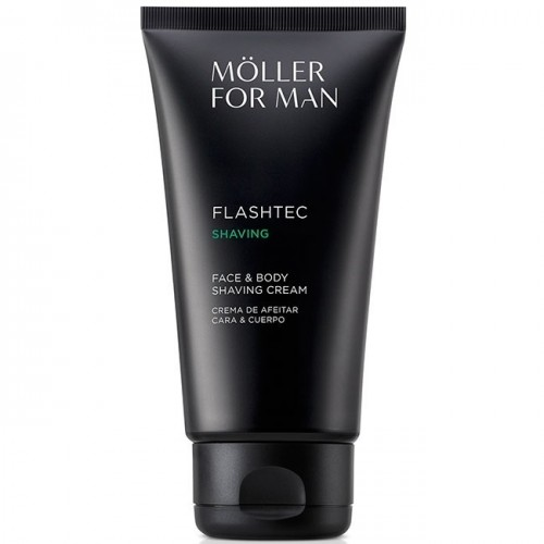 MOLLER FOR MAN CREMA DE AFEITAR CARA Y CUERPO 125ML