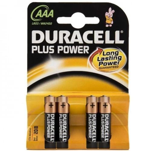 DURACELL PLUS POWER LR-03 BLISTER 4 UD (AAA) PILA ALKALINA