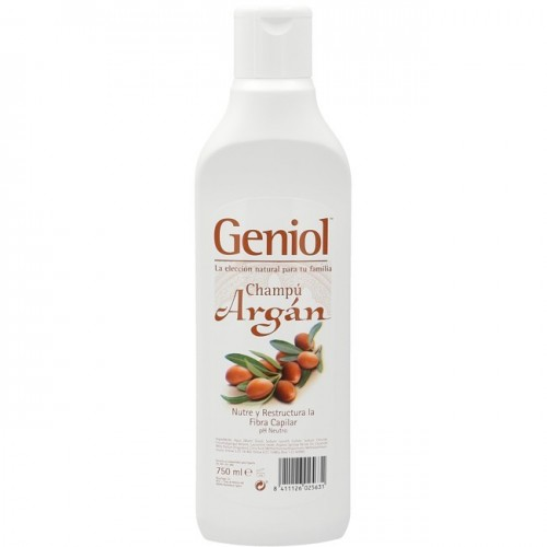GENIOL CHAMPU ARGAN 750ML