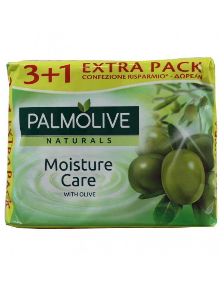 PALMOLIVE JABON 4X90 GRS. OLIVA (PROMO 3+1)