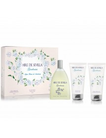 AIRE DE SEVILLA SET GARDENIAS EDT VAP+GEL+BODY (3X150ML)