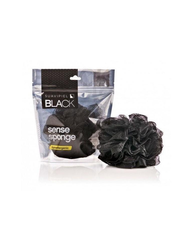 ESPONJA BAÑO FLOR EXFOLIANTE PELING SUAVIPIEL BLACK