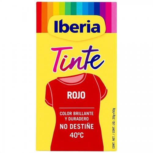 IBERIA TINTE DE ROPA 40º ROJO