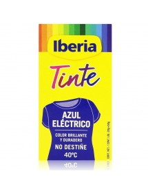 IBERIA TINTE DE ROPA 40º AZUL ELECTRICO