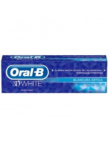 ORAL B PASTA 3D WHITE BLANCURA ARTICA FRESH 75ML