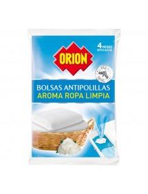 ORION ANTIPOLILLA BOLSITAS AROMA ROPA LIMPIA 20 UDS