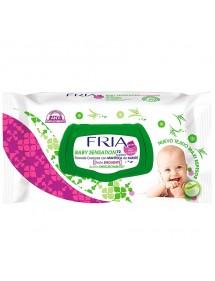 FRIA TOALLITAS BEBE 72U TAPA (BABY SENSATION)