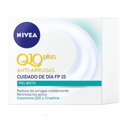 NIVEA Q10 ANTI-ARRUGAS PLUS DIA FP15 PIEL MIXTA 50ML