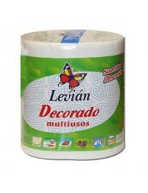 LEVIAN ROLLO MAXI DECORADO 280 SERVICIOS 2 HOJAS