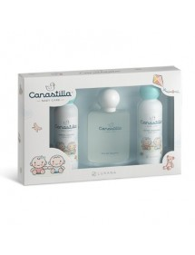 CANASTILLA EDT VAP 100ML+JABON 150ML+BODY 150ML