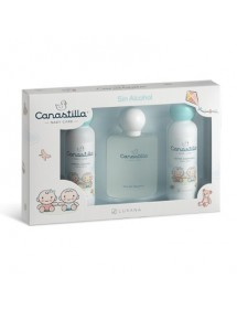 CANASTILLA EDT SIN ALCOHOL VP 100ML+JABON 150ML+BODY 150ML