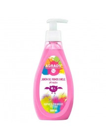 AGRADO JABON DE MANOS LIQUIDO KIDS CHICLE DOSIF. 500ML