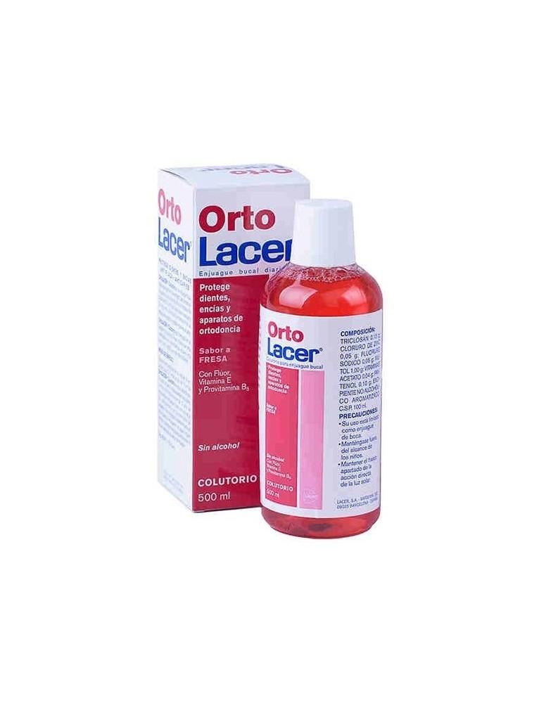 LACER COLUTORIO ORTO SABOR FRESA 500ML