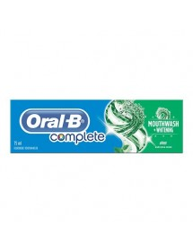 ORAL B PASTA COMPLETE MOUTHWASH WITHENING 75ML