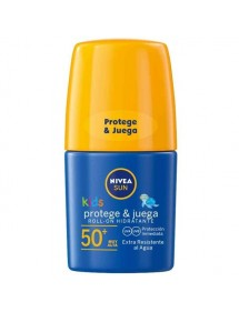 NIVEA SOLAR NIÑOS ROLL-ON FP50+ 50ML PROTEGE Y CUIDA