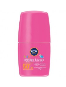 NIVEA SOLAR NIÑOS ROLL-ON FP50+ 50ML KIDS COLOR ROSA