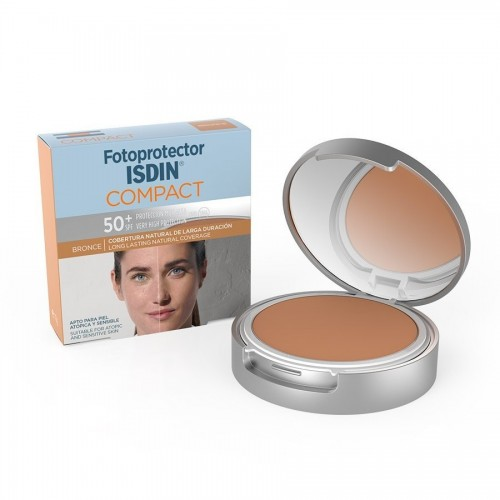 ISDIN FOTOPROTECTOR FACIAL COMPACTO BRONCE 50+ 10 GRS