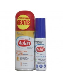 AUTAN REPELENTE PROTEC SPRAY 100ML+SPRAY POST PICADURA 25ML.