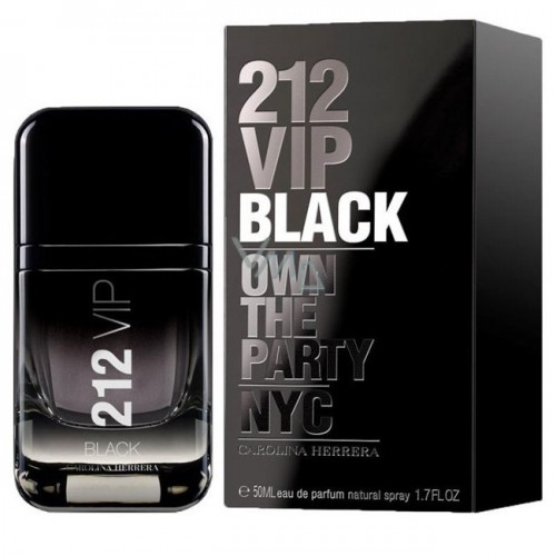 212 VIP BLACK MEN EDP VAP 50ML