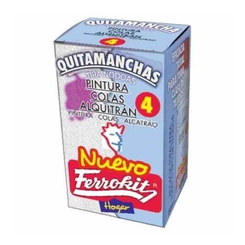 FERROKIT QUITAMANCHAS Nº4 PINTURA COLAS ALQUITRAN 50ML