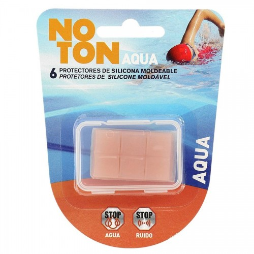 NOTON TAPONES OIDOS SILICONA MOLDEABLE 6 UDS.