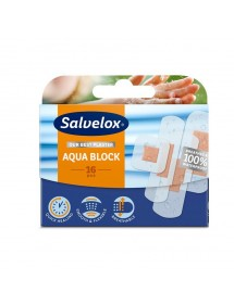 SALVELOX TIRITAS AQUA BLOCK 16 UDS (100% WATERPROOF)