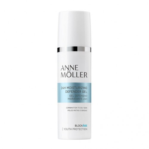 ANNE MOLLER BLOCKAGE GEL 24H MOISTURIZING DEFENDER 50ML